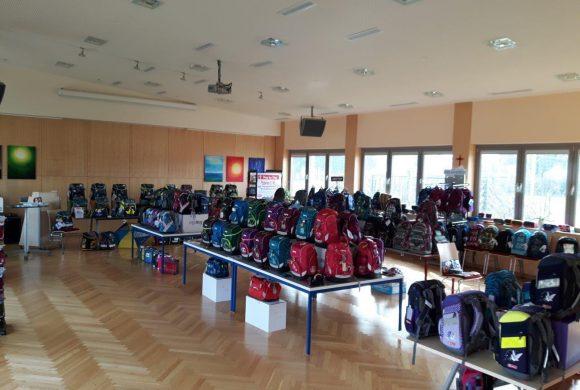 Los geht´s – Schultaschenausstellung