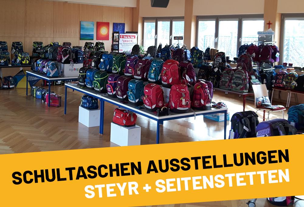 Schultaschenausstellung Steyr & Seitenstetten
